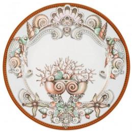 Versace Piatto Piano 22 cm Les Etoiles de la Mer-25 Anni