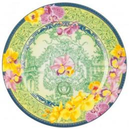 Versace Dinner Plate 22 cm D.V. Floralia 25th Anniversary