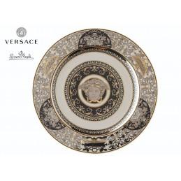 Versace Plate 22 cm Medusa Silver 25th Anniversary