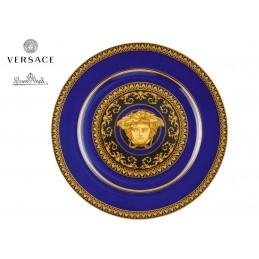 Versace Piatto 22 cm Medusa Blue- 25 Anni