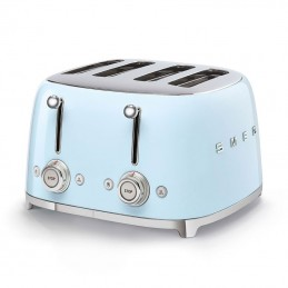 Smeg 4 Slice Toaster 4 large Slots Pastel Blue