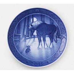 Royal Copenhagen Christmas Plate 2019