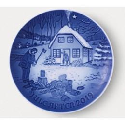 Bing & Grondahl Christmas Plate 2019