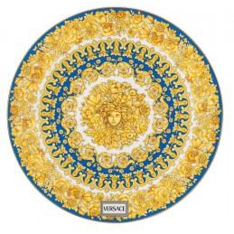 Versace Rosenthal Medusa Rhapsody Blue Service Plate 33 cm