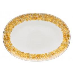 Versace Rosenthal Medusa Rhapsody Oval Platter 38 cm