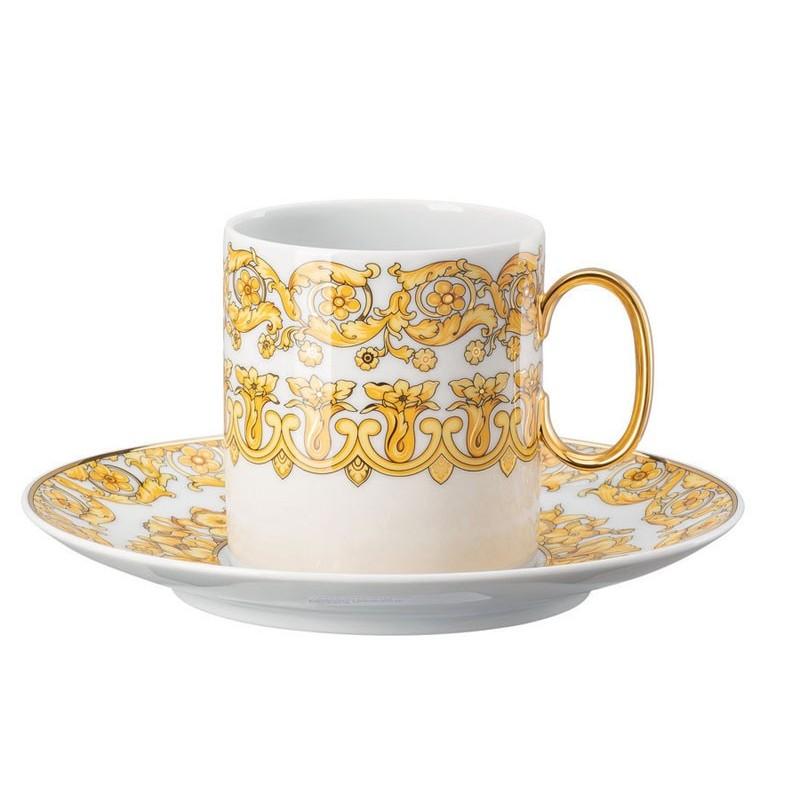 Versace Medusa Rhapsody Tazza Caffè Alta con Piattino