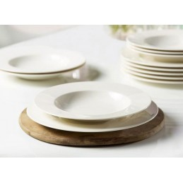 Vivo Villeroy & Boch Basic White Set Tavola 12 Pz