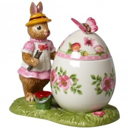 Villeroy & Boch Bunny Tales Easter Egg Jar Anna