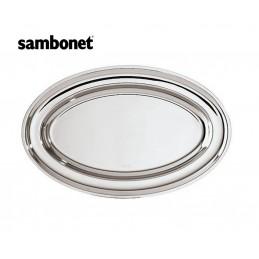 Sambonet Elite Piatto Ovale 54 x 37 cm 56041-54 Acciaio Inox