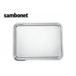 Sambonet Elite Vassoio Rettangolare 35 x 30 cm 56020-35 Inox
