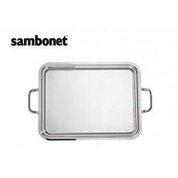Sambonet Elite Rectangular Tray with Handles 50 x 38 cm 56024-50
