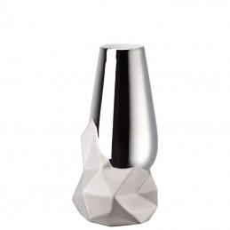 Rosenthal Geode Vaso 27 cm Platino