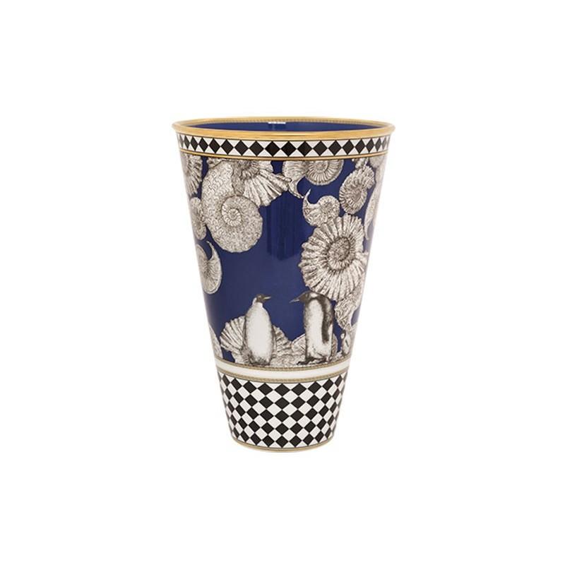 Richard Ginori Totem Penguin Vase 30,5 cm