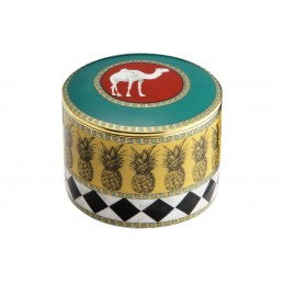Richard Ginori Totem Camel Cylindrical Box with Cover