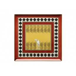 Richard Ginori Totem Camel Square Plate Schale 30 cm