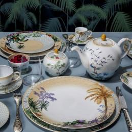 Bernardaud Tropiques Dinnerware Set 18 Pcs Limoges Porcelain