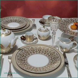 Bernardaud Venise Dinnerware Set 18 Pcs Limoges Porcelain
