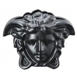 Versace Rosenthal Medusa Grande Vase 15 cm Black
