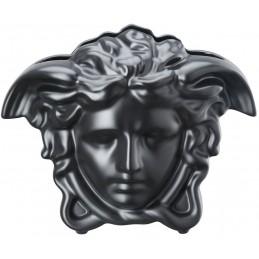 Versace Rosenthal Medusa Grande Vase 21 cm Black