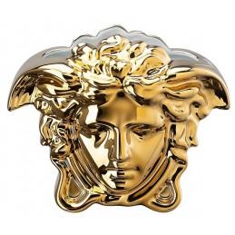 Versace Rosenthal Medusa Grande Vase 15 cm Gold