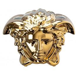 Versace Rosenthal Medusa Grande Vase 21 cm Gold
