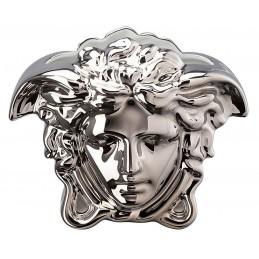 Versace Rosenthal Medusa Grande Vase 15 cm Silver
