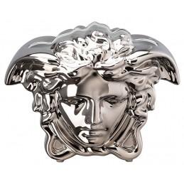 Versace Rosenthal Medusa Grande Vase 21 cm Silver