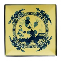 Richard Ginori Oriente Italiano Citrino Vide Poche Plate 21 cm - 8 In