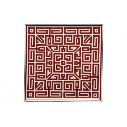Richard Ginori Labirinto Scarlatto Vide Poche Plate 30 cm - 18 1/4 In