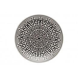 Richard Ginori Labirinto Nero Centerprice Plate 31 cm -12 1/4 In