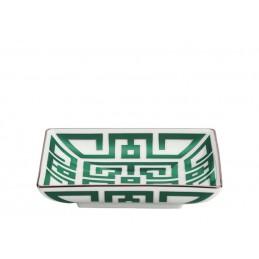 Richard Ginori Labirinto Smeraldo Coppa Quadrata 13, 5 cm