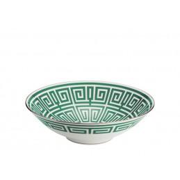 Richard Ginori Labirinto Smeraldo Bowl 27 cm - 16 1 / 2 In
