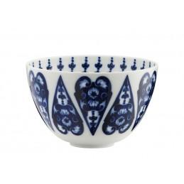 Richard Ginori Babele Blu High Bowl H. 10 cm - 4 In