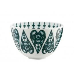Richard Ginori Babele Verde High Bowl H. 10 cm - 4 In