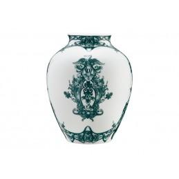 Richard Ginori Babele Verde Vaso ad Orcino H. 29 cm