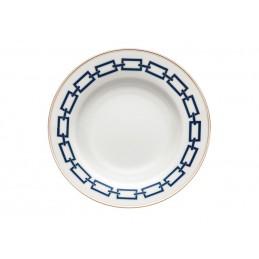 Richard Ginori Catene Zaffiro Soup Plate 24, 5 cm - 9 1/ 2 In