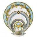 Versace Prestige Gala Le Bleu Posto Tavola 5 Pezzi