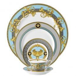 Versace Rosenthal Prestige Gala Le Bleu Dinnerware Set 5 Pieces