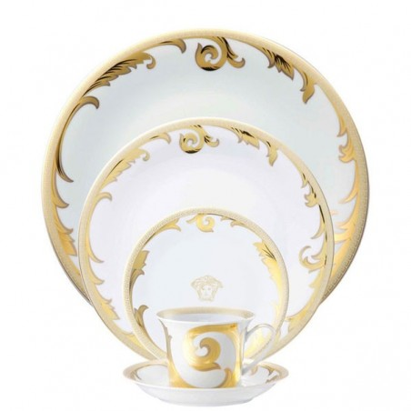 Versace Arabesque Gold Posto Tavola 5 Pezzi