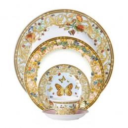 Versace Rosenthal Le Jardin de Versace Dinnerware Set 5 Pieces