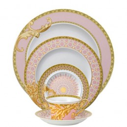 Versace Rosenthal Les Reves Byzantins Dinnerware Set 5 Pieces
