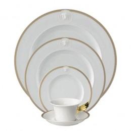 Versace Rosenthal Medaillon Meandre D' Or Dinnerware Set 5 Pieces