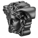 Versace Break the Bank Salvadanaio Nero 18x12 cm H. 14, 5 cm