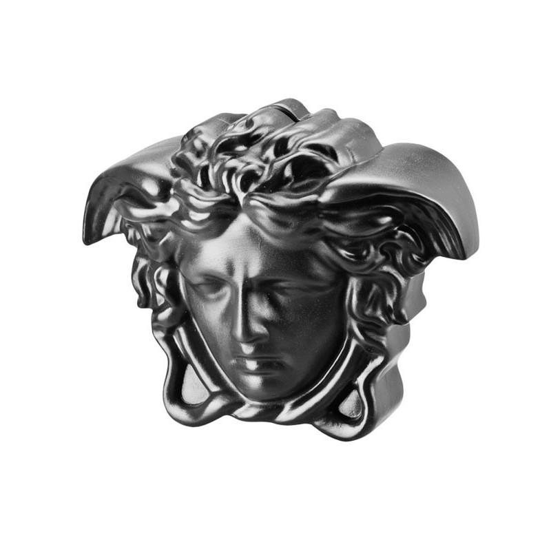 Versace Break the Bank Salvadanaio Nero 18x12 cm H. 14, 5 cm