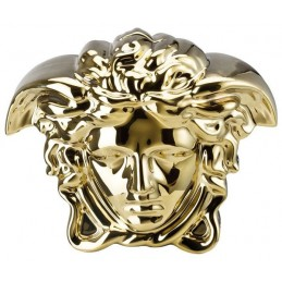 Versace Rosenthal Break the Bank Money-Box Gold 18x12 cm H. 14, 5 cm