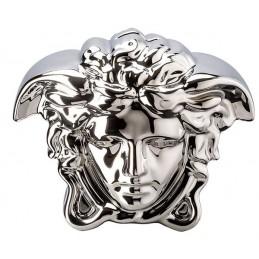 Versace Rosenthal Break the Bank Money-Box Silver 18x12 cm H. 14, 5 cm