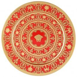 Versace I Love Baroque Rosso Piatto 33 cm Edizione Limitata