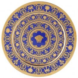 Versace I Love Baroque Blue Piatto 33 cm Edizione Limitata