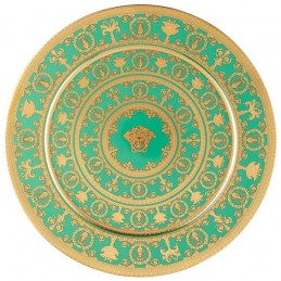 Versace Rosenthal I Love Baroque Vert Plate 33 cm Limited Edition