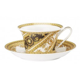 Versace Rosenthal I Love Baroque Tea Cup & Saucer